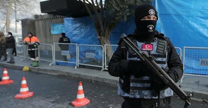 politist Turcia