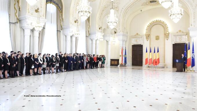 Noi magistrati la Palatul Cotroceni