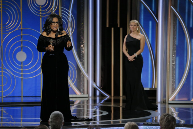 Oprah Winfrey, Globurile de Aur