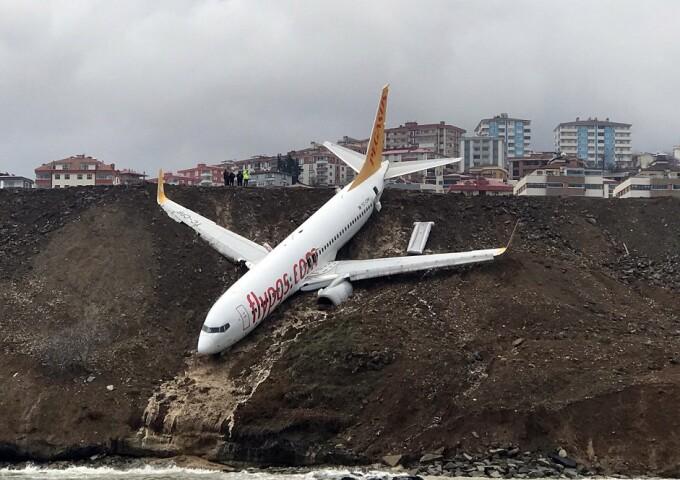 avion in noroi la Trabzon