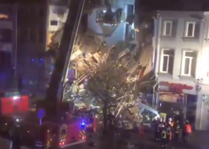Explozie violentă în Anvers