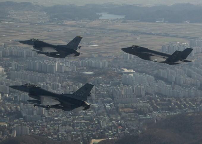 exercitiu militar sua in Coreea