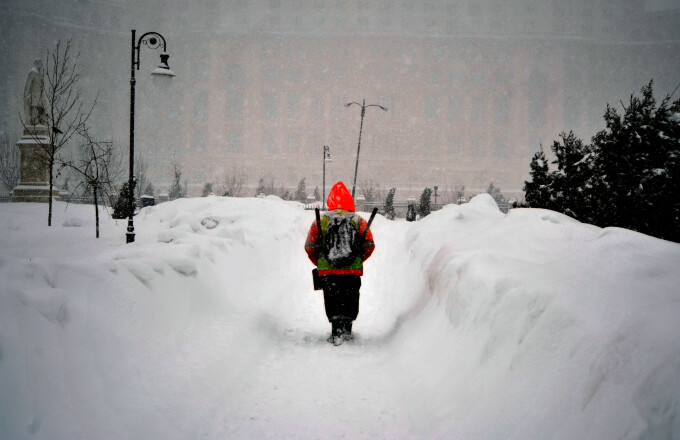 iarna, elevi, zapada