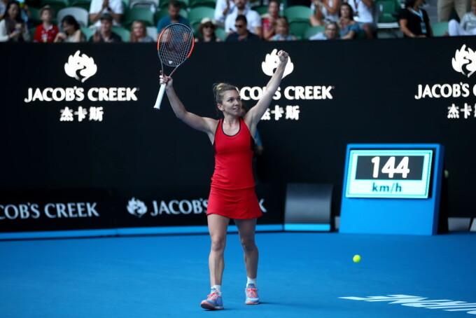 Simona Halep, Australian Open 2018