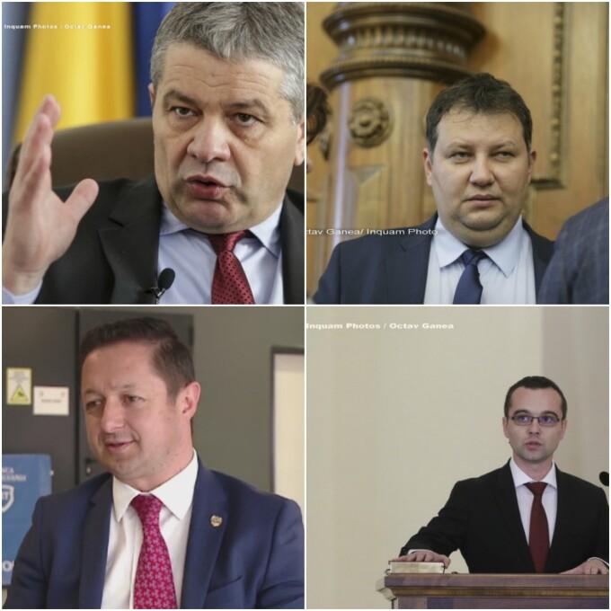 ministri care se retrag din Guvern