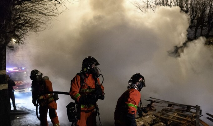 incendiu Franta