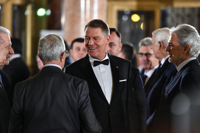 Președintele Klaus Iohannis, la ceremonia de preluare a președinției Consiliului UE