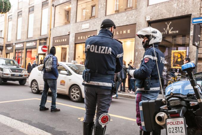 politisti in Italia