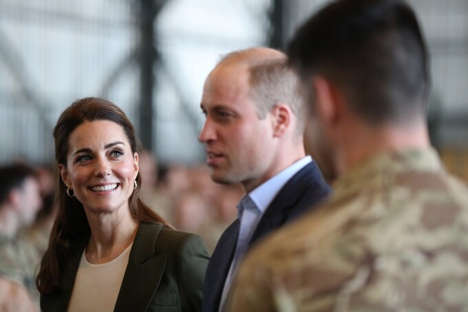 Kate Middleton si printul William