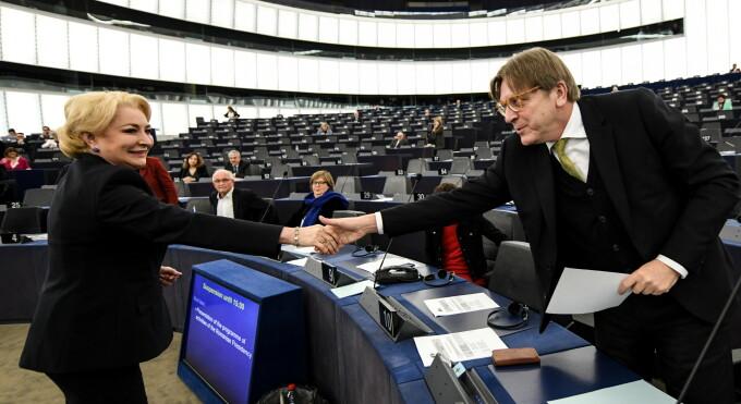 Viorica Dancila, Guy Verhofstadt