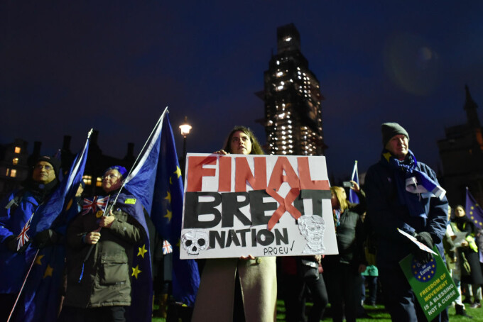 Acordul pentru Brexit a fost respins