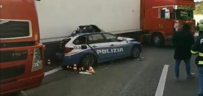 accident polițist Italia
