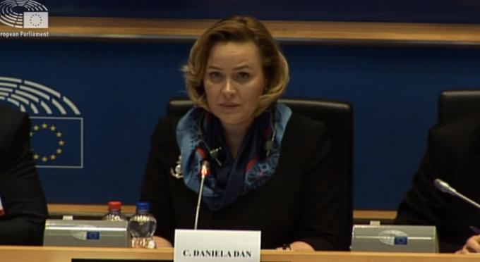 Carmen Dan, Parlamentul European