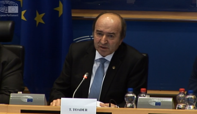 Tudorel Toader, Parlamentul European