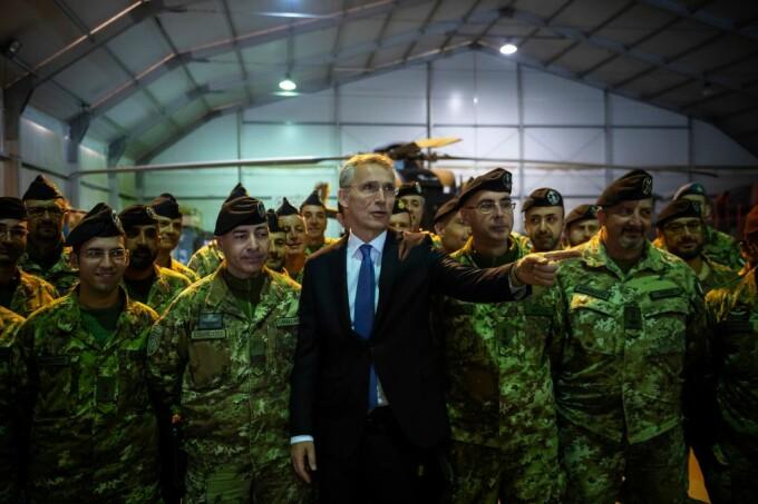 NATO, Jesn Stoltenberg,