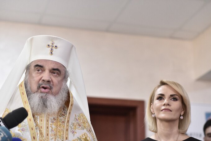 Patriarhul Daniel, Gabriela Firea