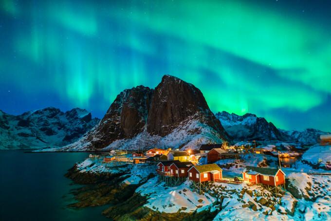sat din Norvegia