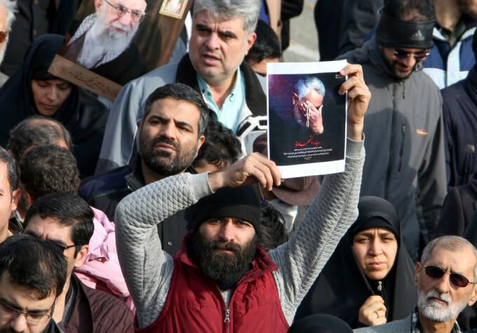 Reacții în Iran după moartea generalului Qassem Soleimani - 3