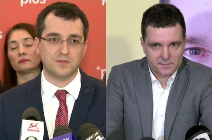 Vlad Voiculescu și Nicușor Dan