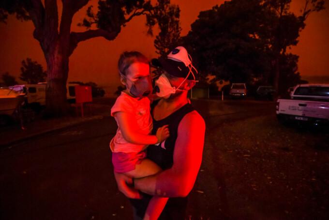 Imagini emoționante din Australia, în urma incendiilor devastatoare