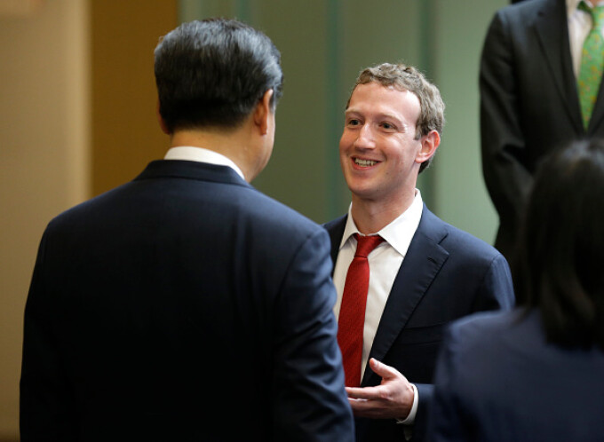 mark zuckerberg, xi jinping