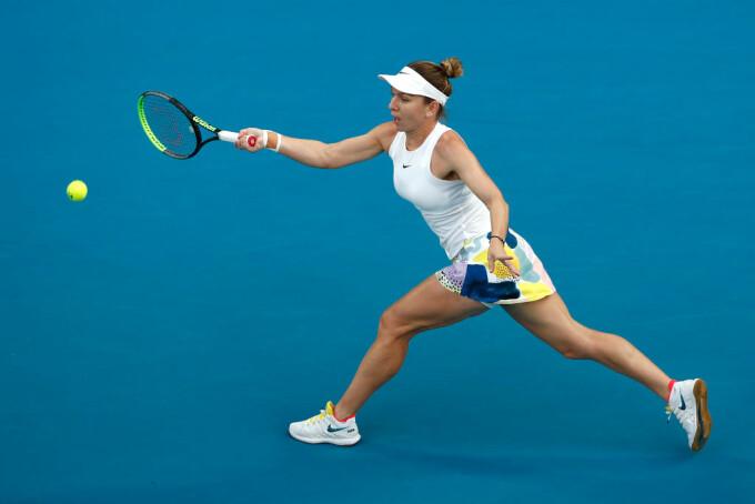 Simona Halep s-a calificat în turul trei la Australian Open