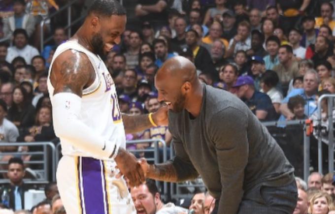 Kobe Bryant și LeBron James