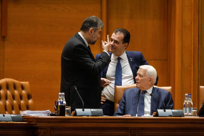 Marcel Ciolacu, Ludovic Orban