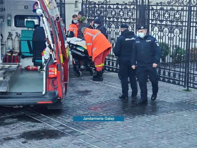 Incident grav la slujba de Bobotează de la Galați. A intervenit SMURD