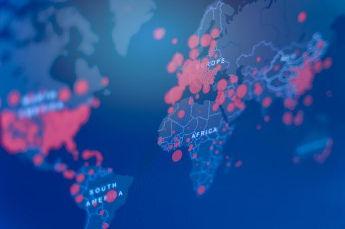 Harta coronavirusului se colorează în roșu aprins. Comisia Europeană a introdus o nouă culoare