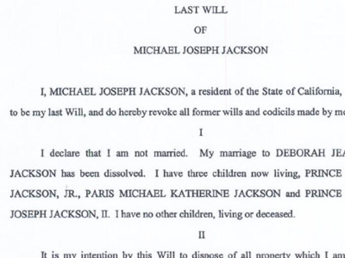 testament Michael