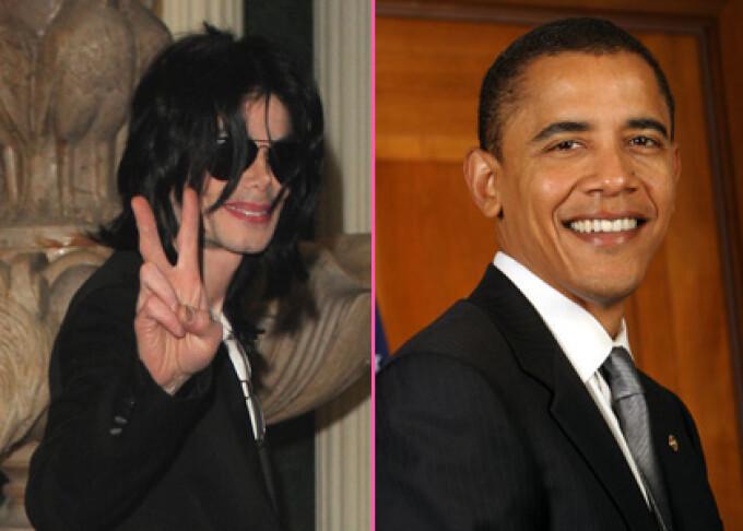 Michael Jackson, Barack Obama