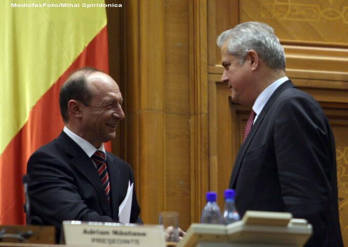 Traian Basescu, Adrian Nastase