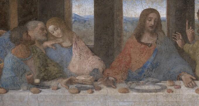 Cina cea de Taina, Leonardo da Vinci