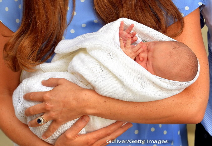 bebelusul, copilul lui Kate Middleton, la externarea din spital - 2