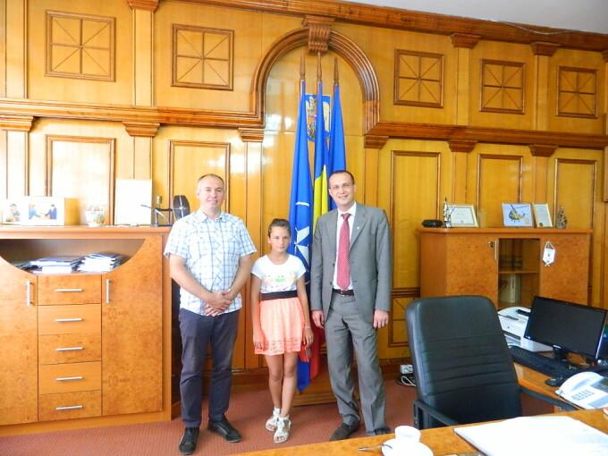 Intalnire cu Primarul de o zi, proiect Becicherecu Mic Timis