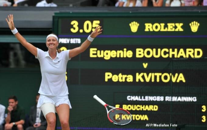 Petre Kvitova, Wimbledon 2014