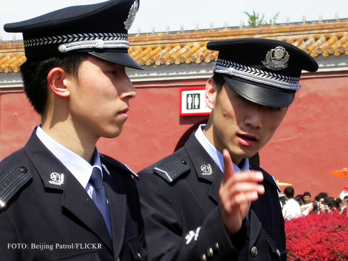 politisti chinezi in Beijing FOTO: FLICKR