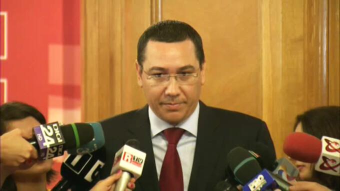 Ponta inainte de votul de la PSD