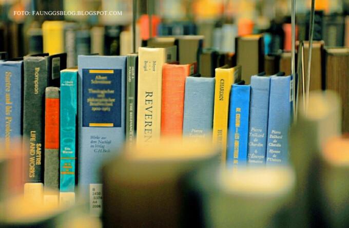 raft cu carti intr-o biblioteca FOTO FLICKR