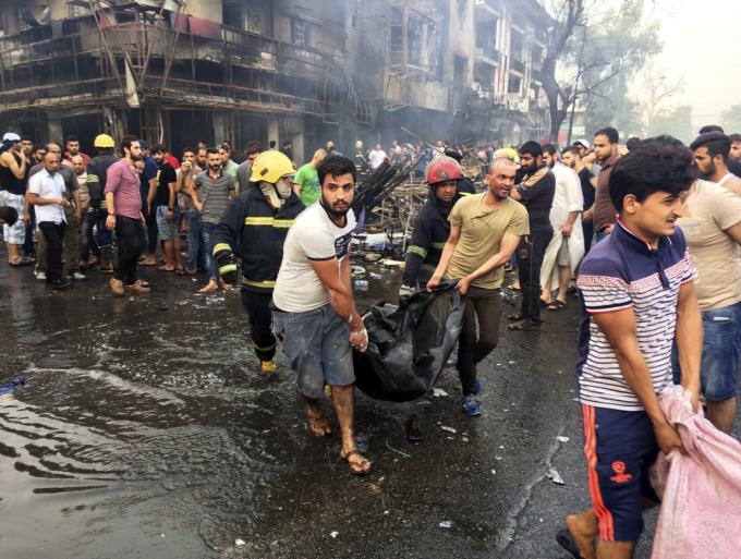 atentat in Bagdad