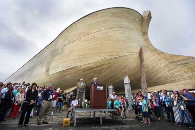 constructie Arca lui Noe - Agerpres
