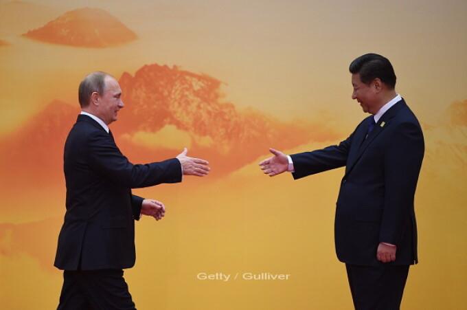 Vladimir Putin, Xi Jinping