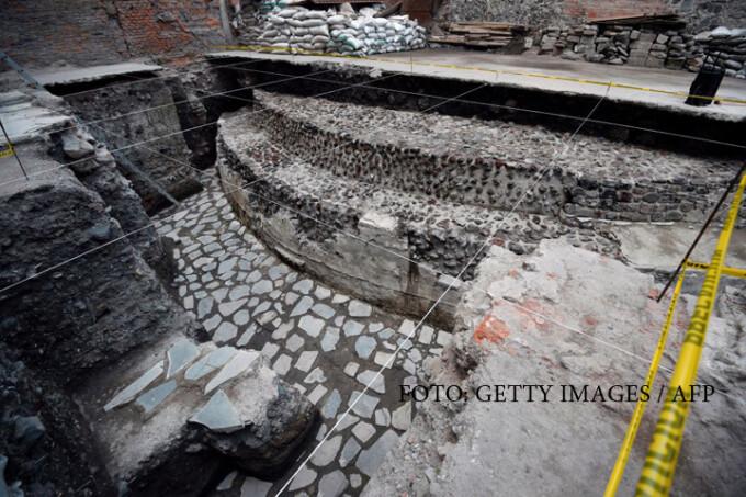 templu aztec Mexic
