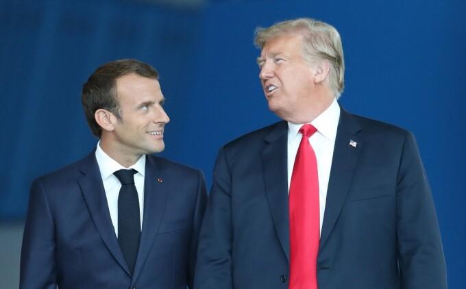 Trump şi Macron