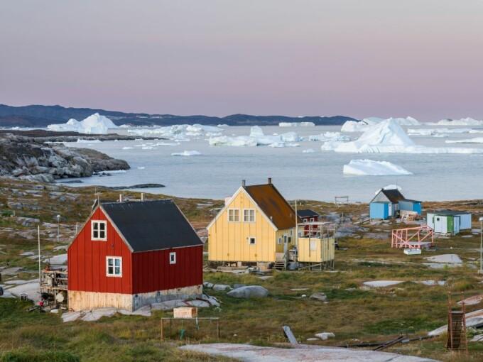 aisberg groenlanda