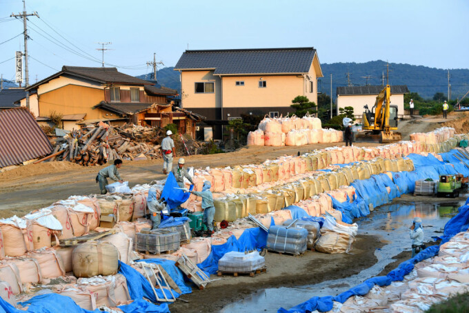 Japonia, pregatiri pentru taifun