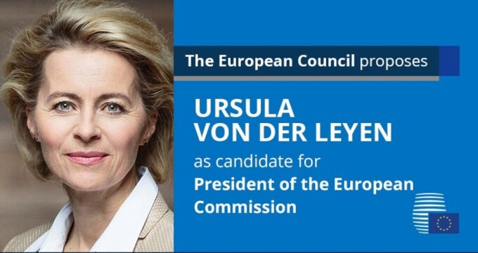 Germana Ursula von der Leyen, propusă pentru funcția de președinte al Comisiei Europene