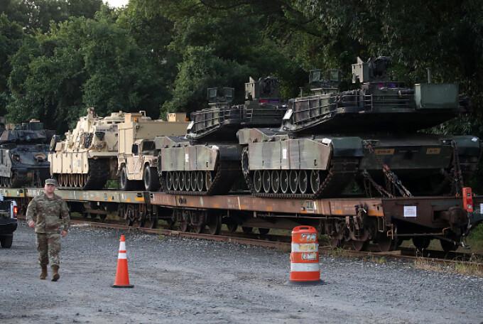 Tancuri la parada în SUA - 3