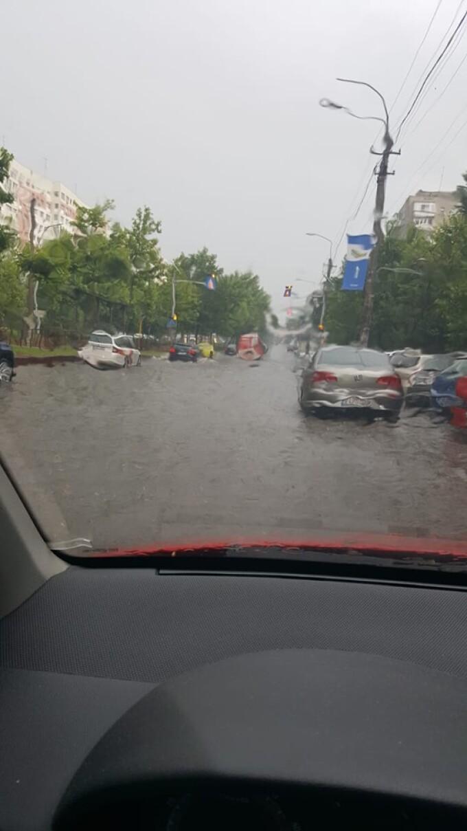 Cod portocaliu de furtună, în București și în Ilfov